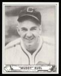 1940 Play Ball Reprint #127  Muddy Ruel  Front Thumbnail