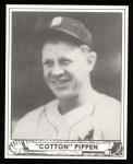 1940 Play Ball Reprint #136  Cotton Pippen  Front Thumbnail