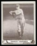 1940 Play Ball Reprint #41  Charlie Gehringer  Front Thumbnail