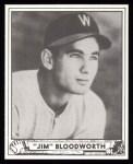 1940 Play Ball Reprint #189  Jimmy Bloodworth  Front Thumbnail