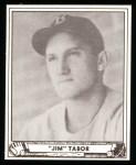 1940 Play Ball Reprint #36  Jim Tabor  Front Thumbnail