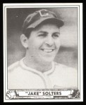 1940 Play Ball Reprint #126  Julius Solters  Front Thumbnail