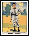 1941 Play Ball Reprint #34  Rollie Hemsley  Front Thumbnail