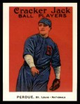 1915 Cracker Jack Reprint #121  Hub Perdue  Front Thumbnail