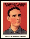 1915 Cracker Jack Reprint #167  Clark Griffith  Front Thumbnail