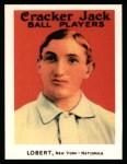 1915 Cracker Jack Reprint #170  Hans Lobert  Front Thumbnail