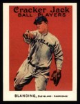 1915 Cracker Jack Reprint #109  Fred Blanding  Front Thumbnail