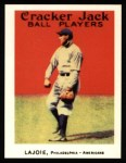 1915 Cracker Jack Reprint #66  Nap Lajoie  Front Thumbnail