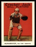 1915 Cracker Jack Reprint #132  Les Nunamaker  Front Thumbnail