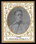 1909 T204 Ramly Reprint #43  Johnny Evers  Front Thumbnail