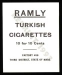 1909 T204 Ramly Reprint #104  Jimmy Schekard  Back Thumbnail