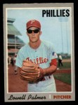 1970 O-Pee-Chee #252  Lowell Palmer  Front Thumbnail