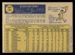 1970 O-Pee-Chee #239  Ken Berry  Back Thumbnail