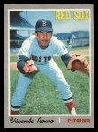 1970 O-Pee-Chee #191  Vicente Romo  Front Thumbnail