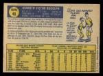 1970 O-Pee-Chee #46  Ken Rudolph  Back Thumbnail