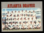 1970 O-Pee-Chee #472   Braves Team Front Thumbnail
