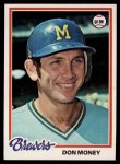 1978 Topps #24  Don Money  Front Thumbnail