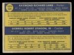 1970 O-Pee-Chee #131   -  Ray Lamb / Bob Stinson Dodgers Rookies Back Thumbnail