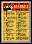 1970 O-Pee-Chee #244   Checklist 264-372 Front Thumbnail