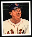 1950 Bowman REPRINT #187  Lou Stringer  Front Thumbnail