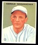 1933 Goudey Reprint #240  Hal Schumacher  Front Thumbnail