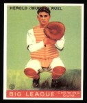 1933 Goudey Reprint #18  Muddy Ruel  Front Thumbnail