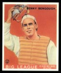 1933 Goudey Reprint #1  Benny Bengough  Front Thumbnail