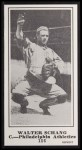 1916 M101-5 Blank Back Reprint #156  Walter Schang  Front Thumbnail
