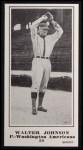 1916 M101-5 Blank Back Reprint #90  Walter Johnson  Front Thumbnail