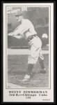 1916 M101-5 Blank Back Reprint #199  Heiny Zimmerman  Front Thumbnail
