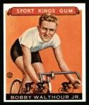 1933 Sport Kings Reprint #31  Bobby Walthour Jr.  Front Thumbnail