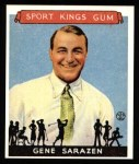 1933 Sport Kings Reprint #22  Gene Sarazen   Front Thumbnail