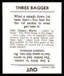 1936 Goudey Reprint #21  Pepper Martin  Back Thumbnail