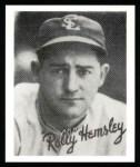 1936 Goudey Reprint #17  Rollie Hemsley  Front Thumbnail