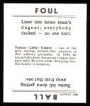 1936 Goudey Reprint #14  Lefty Gomez  Back Thumbnail