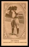 1922 E120 American Caramel Reprint #4  Joe Harris  Front Thumbnail