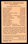 1922 E120 American Caramel Reprint #6  Nemo Leibold  Back Thumbnail