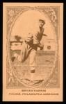 1922 E120 American Caramel Reprint #80  Bryan Harris  Front Thumbnail