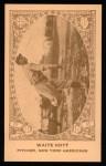 1922 E120 American Caramel Reprint #64  Waite Hoyt  Front Thumbnail