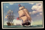 1954 Bowman U.S. Navy Victories #10   First Salute to our Flag Front Thumbnail