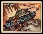 1950 Topps Freedoms War #141   Moving Tanks  Front Thumbnail