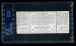 1912 T202 Hassan   -  Hal Chase / Harry Wolter Chase Guarding 1st  Back Thumbnail