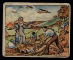 1938 Gum Inc. Horrors of War #276   Spanish Raid Refugees Bury Their Dead Front Thumbnail