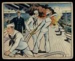 1941 Gum Inc Uncle Sam #21   Fire At Sea Front Thumbnail