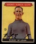 1933 Goudey Sport Kings #12  Bobby McLean   Front Thumbnail