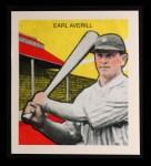 1933 Tattoo Orbit Reprint #3  Earl Averill  Front Thumbnail