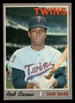 1970 O-Pee-Chee #290  Rod Carew  Front Thumbnail