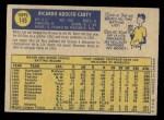 1970 O-Pee-Chee #145  Rico Carty  Back Thumbnail
