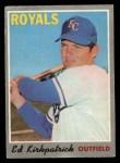 1970 O-Pee-Chee #165  Ed Kirkpatrick  Front Thumbnail