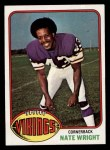 1976 Topps #521  Nate Wright  Front Thumbnail